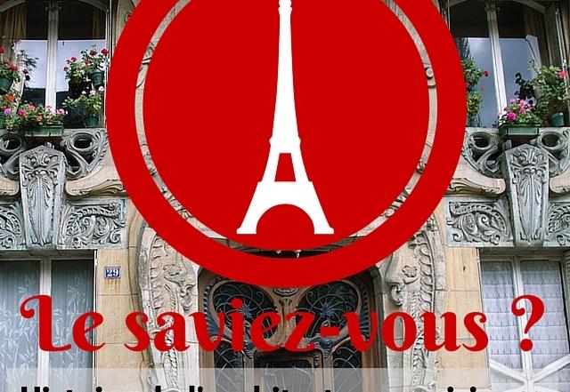 Histoire de l'architecture parisienne