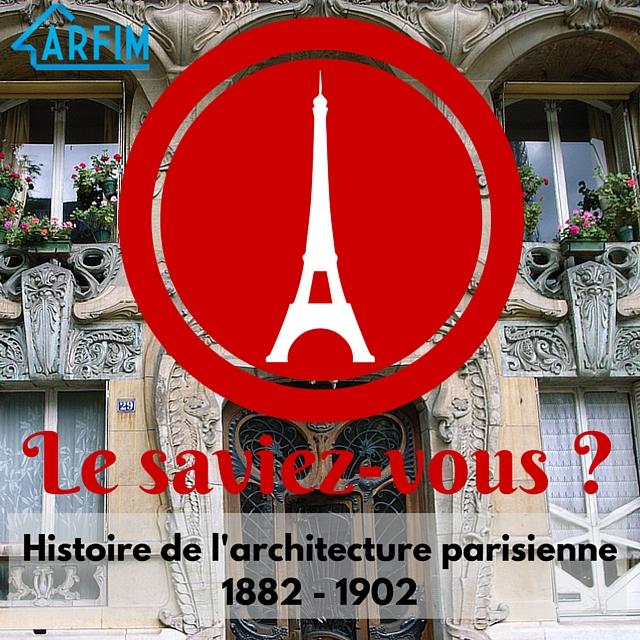 Art nouveau Art déco Histoire de l'architecture parisienne
