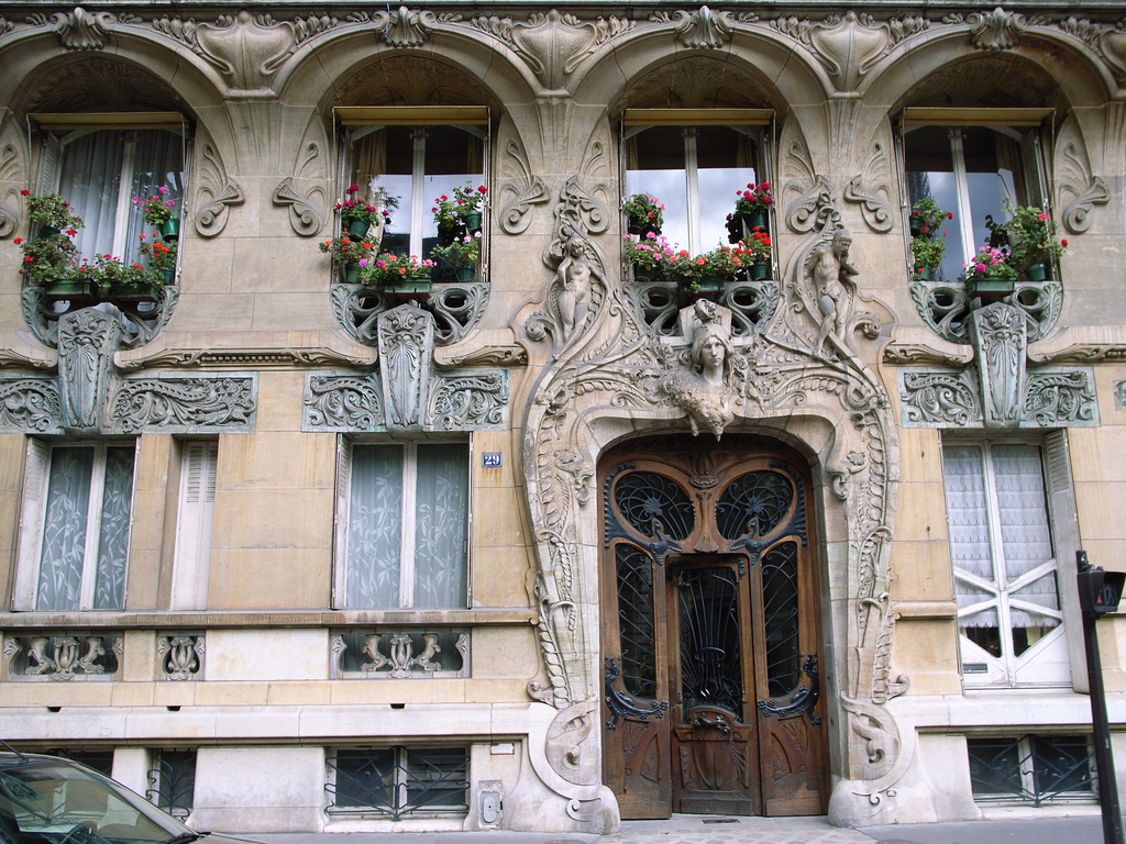 Art nouveau architecture parisienne arfim for Art et architecture