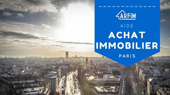 Aide achat immobilier Paris