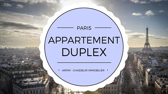 Appartement duplex Paris