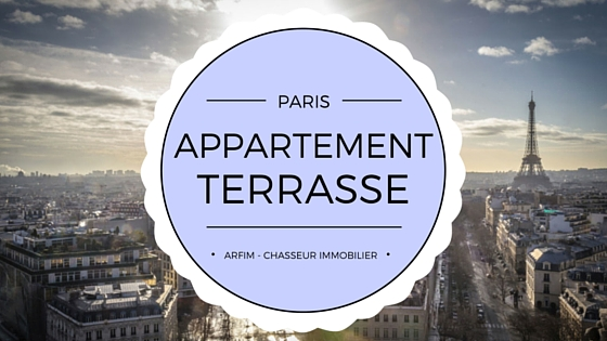 Appartement terrasse Paris