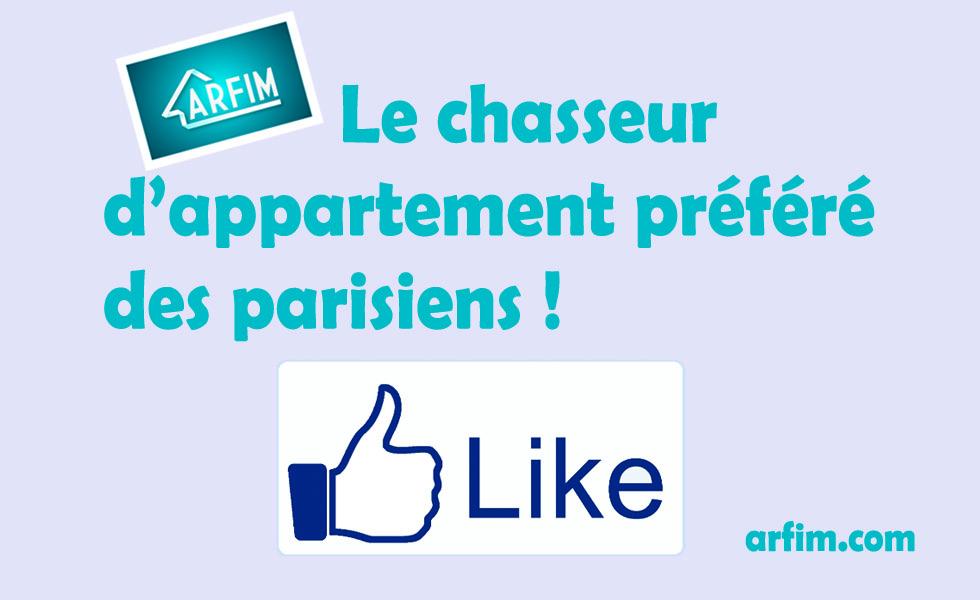 chasseur d'appartement préféré des parisiens