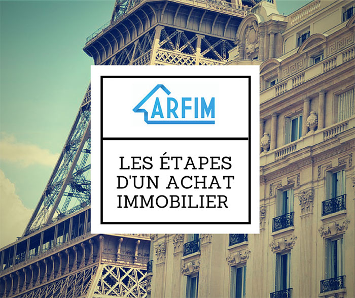 étapes achat immobilier