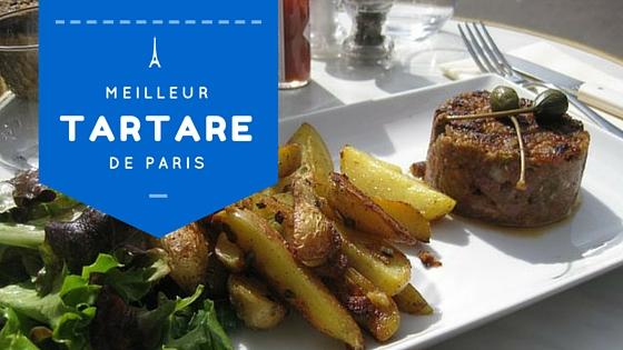 Meilleur tartare de Paris
