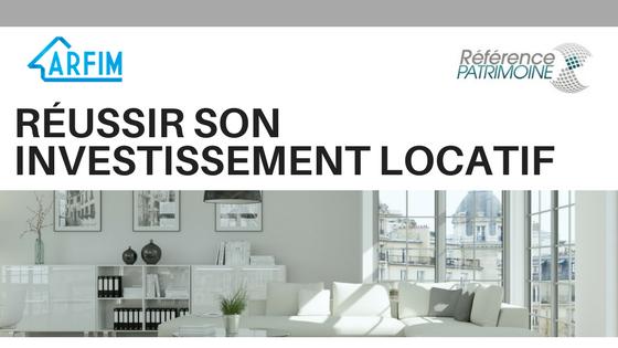 Chasseur appartement investissement locatif