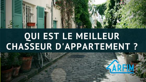 qui est le meilleur chasseur appartement Paris