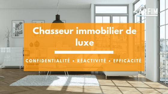 Chasseur appartement de luxe Paris