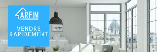 Vendre rapidement appartement
