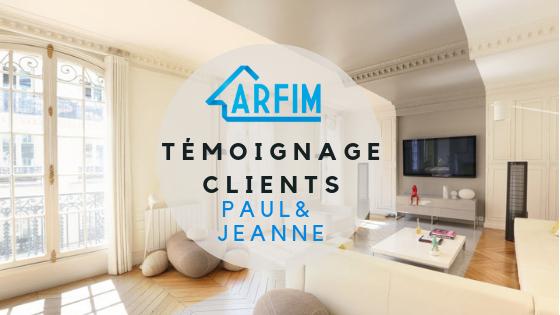 Témoignage Client Paul et Jeanne